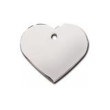 Адрессник Сердце большое серебряное