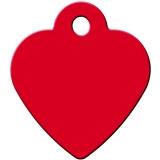 Адрессник Сердце малое красное