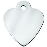 Адрессник Сердце малое серебряное