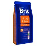 Brit Premium для активных собак всех пород 15кг