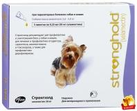Стронгхолд капли на холку д/собак от 2,5-5кг 1ампула