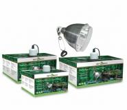 Светильник металлический с защитной сеткой 75Вт