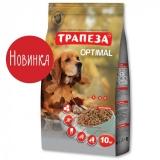 Трапеза Оптималь для собак, живущих в городе 10 кг