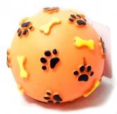 Игрушка резиновая Мяч лапки 8,5см Triol