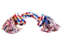 Веревка цветная два узла 24см Triol