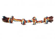 Веревка цветная 4 узла 43см Triol