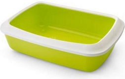 Туалет Litter Tray Isis 42см с бортом лимонный