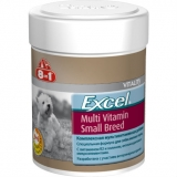 Витамины 8в1 Exel Multi Vit Small Breed 70табл
