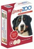 Витамины Доктор Zoo для собак c биотином и таурином 90табл