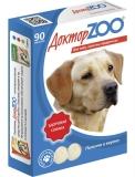 Витамины Доктор Zoo для собак c морскими водорослями 90табл