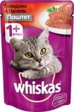 Whiskas паштет из говядины с печенью 85г