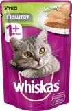 Whiskas паштет с уткой 85г